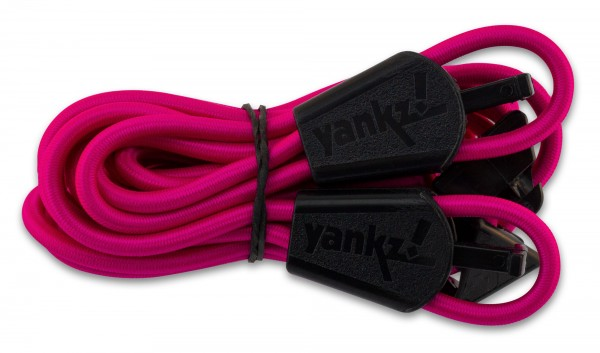 YANKZ-Schnürsystem (Farbe: Hotpink)