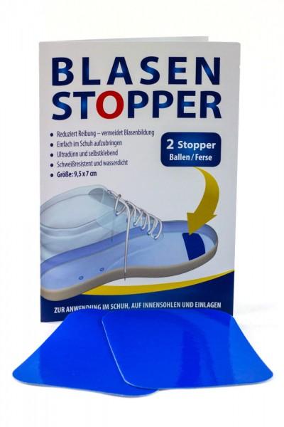 Blasenstopper - vermeidet Blasenbildung - 2 Rechteckige Stopper für Ballen/Ferse
