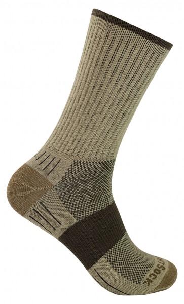 ESCAPE crew, doppellagige Socken, wadenhoch