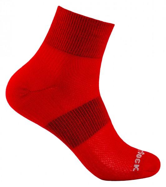 COOLMESH II quarter einfarbig, doppellagige Socken, knöchelhoch