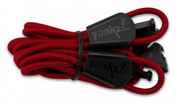 YANKZ-Schnürsystem (Farbe: Rot)