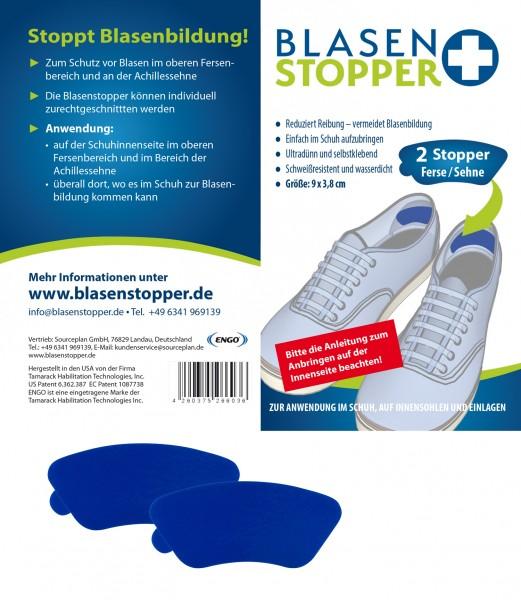 Blasenstopper – 2 Stopper für die Ferse