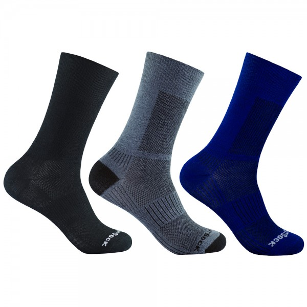 COOLMESH II crew, doppellagige Socken, wadenhoch