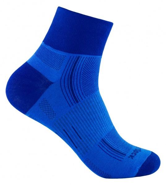 STRIDE quarter, doppellagige Socken, knöchelhoch