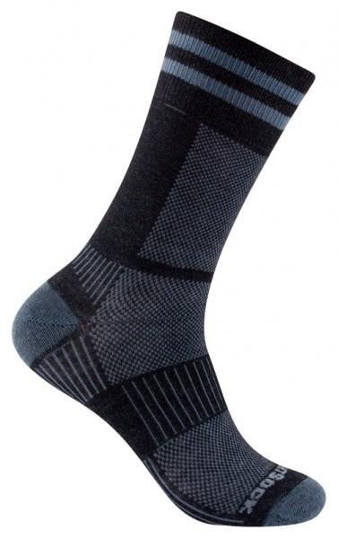 COOLMESH II crew zweifarbige Socken, wadenhoch, doppellagig