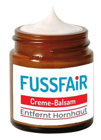 Fussfair Hornhautentferner – Balsam-Creme (30ml)