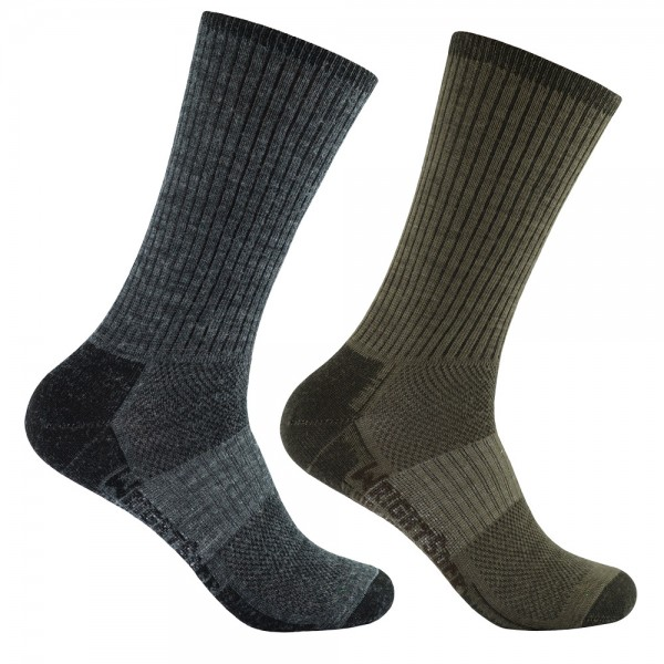 MERINO STRIDE crew, doppellagige Socken, wadenhoch