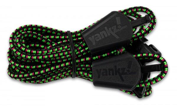 YANKZ-Schnürsystem (Farbe: Schwarz-Multicolor)